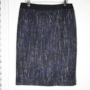 Boden Classic Notre Dame Tweed Pencil Skirt Size 6